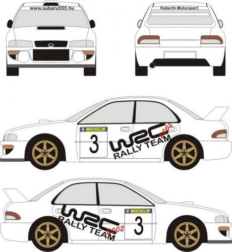 Subaru első design